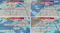 Timing & tracking Wednesday's snow