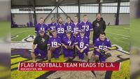 Flag football team picked by the MN Vikings