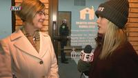 Rochester's Mayor visits new warming center as it welcomes its first guests