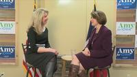 One-on-one interview with Klobuchar