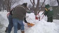 Shoveling: Don't forget the fire hydrant and mailbox