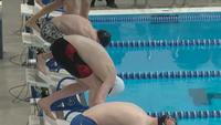 Section 1A boys swimming preliminaries