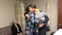 Three women reunite after life-changing procedure