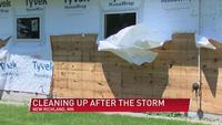 Small town moving forward following storm damage