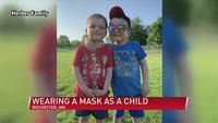 Local family shares experience of using masks for two years