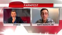 VIDEO: Farmfest: Dan Feehan on his plans to help MN farmers
