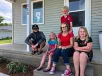 Habitat for Humanity helps a North Iowa family with a new home