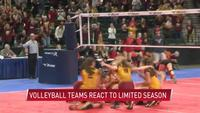 Volleyball teams react to limited season