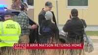 A homecoming for a hero: community welcomes back Arik Matson