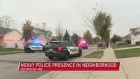 Brief police presence in NW Rochester neighborhood