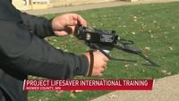 Project lifesaver training in Austin