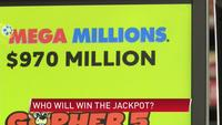 Mega Millions jackpot reaches $970 million