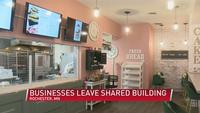 Two Rochester businesses leave shared building