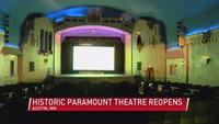 Paramount Theater in Austin reopens after COVID closure