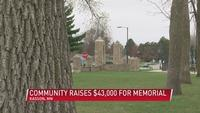 Kasson community raises $43,000 for historic memorial