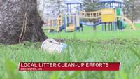 Local litter clean-up efforts for this spring