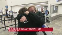 Sisters reunite after 27 years